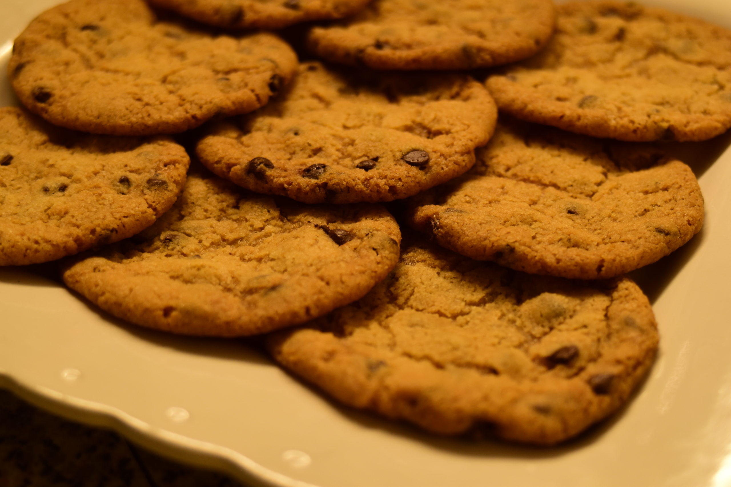 Chocolate drops cookies without eggs
