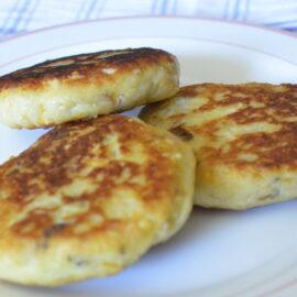 Potatoes mini cakes (vegan)