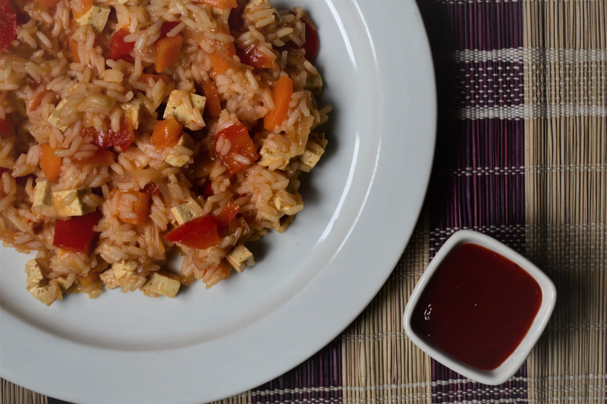 Vegan oriental rice
