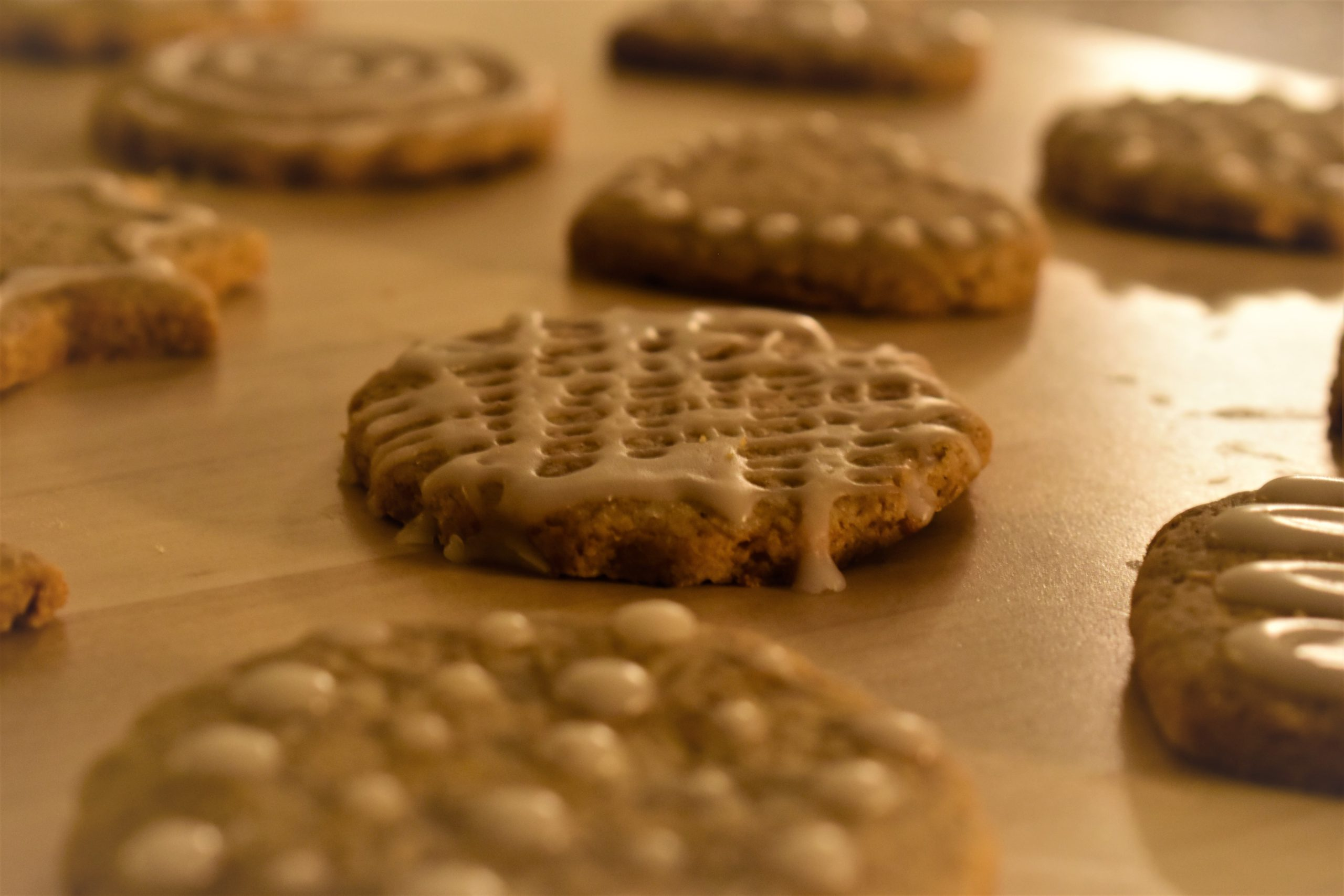 Swedish biscuits (Pepparkakor)