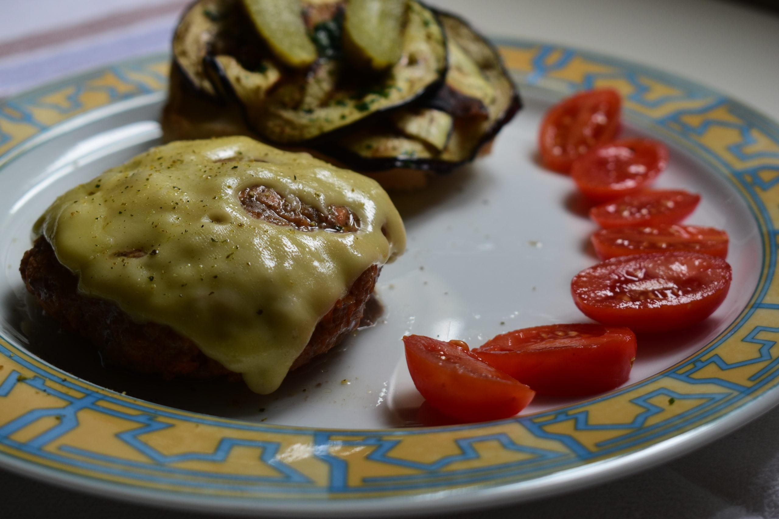 Oven baked juicy burgers