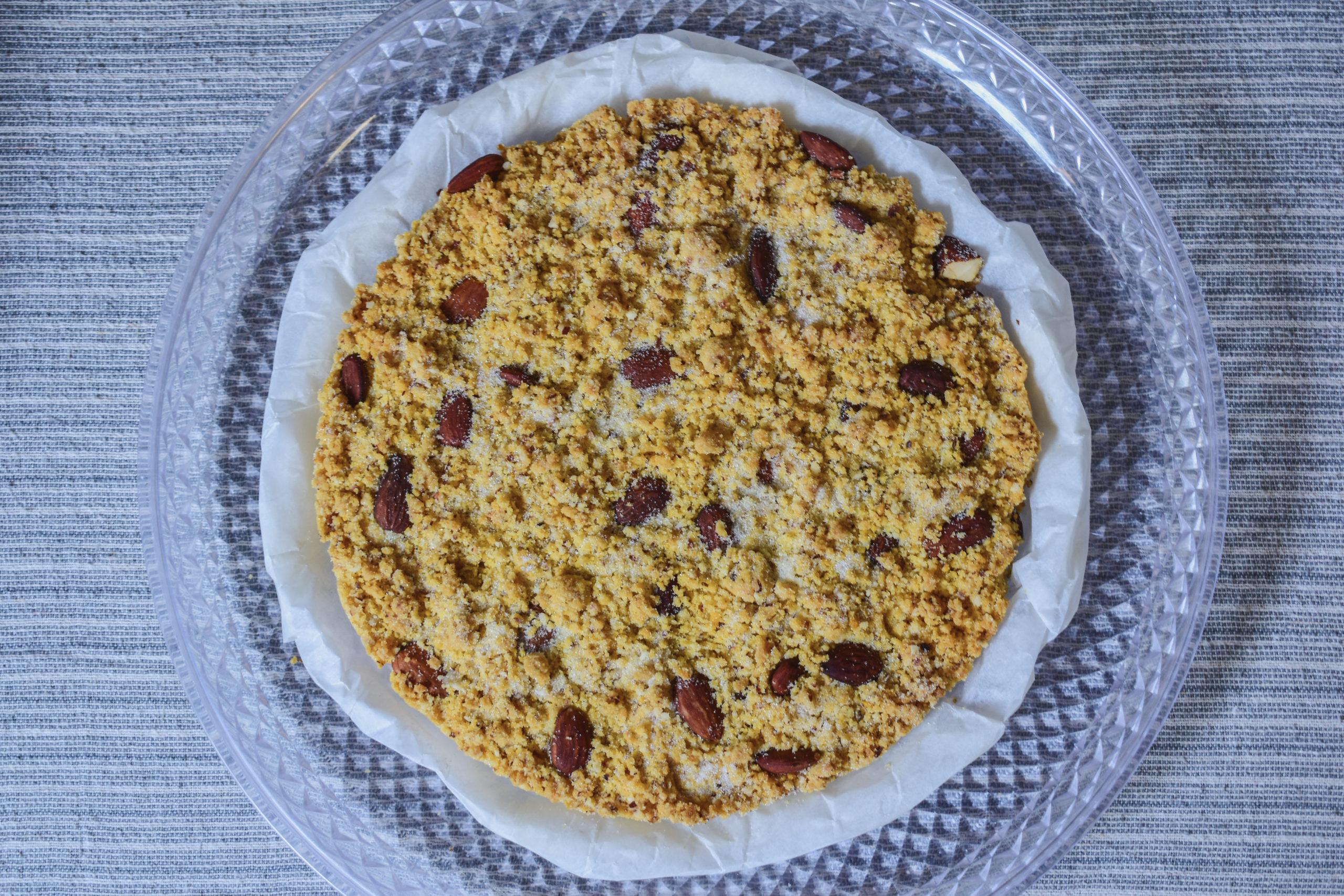Sbrisolona (crumble cake from the city of Mantua)