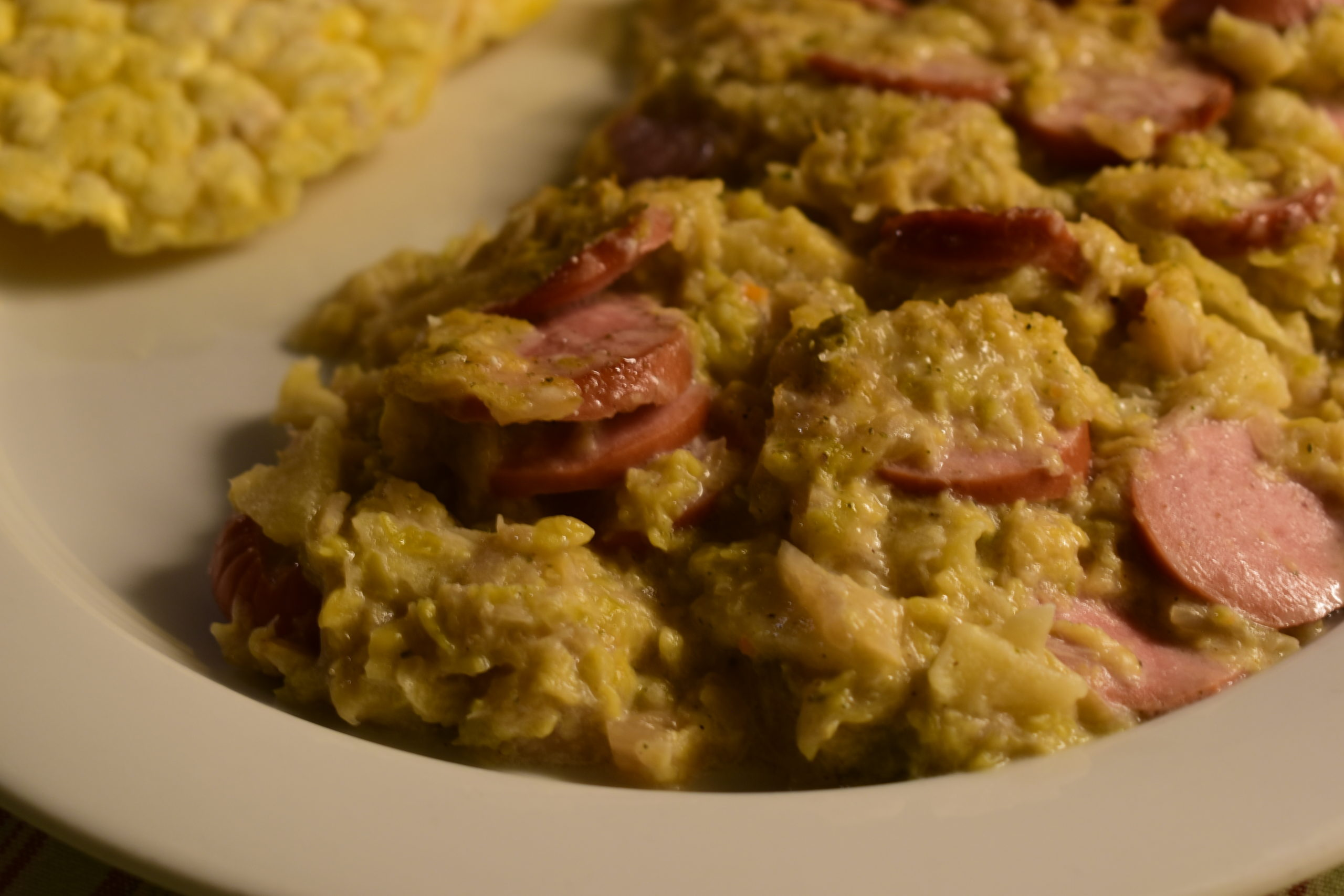 Oven baked sauerkrauts